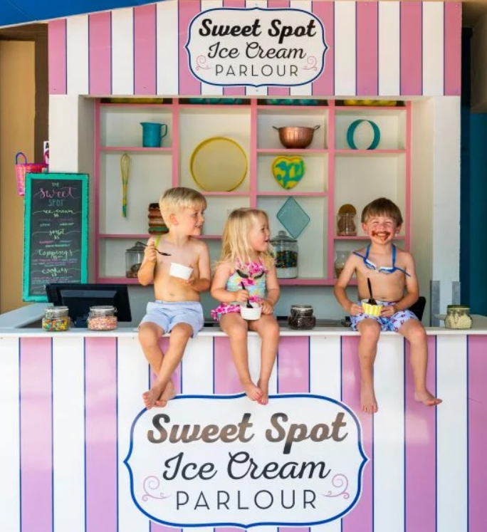 MidWeek Summer Special Kids Eating Ice Cream Summer TIme