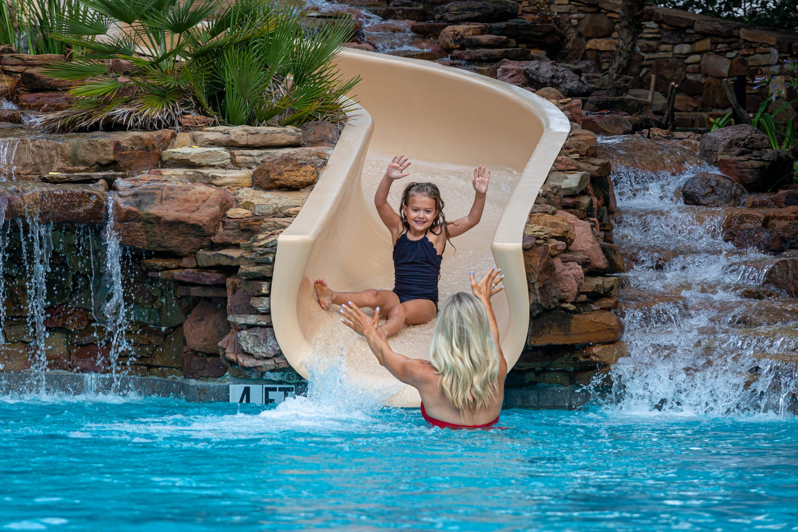 The Houstonian Hotel Family Package Swimming Pool Mother Daughter Vacation